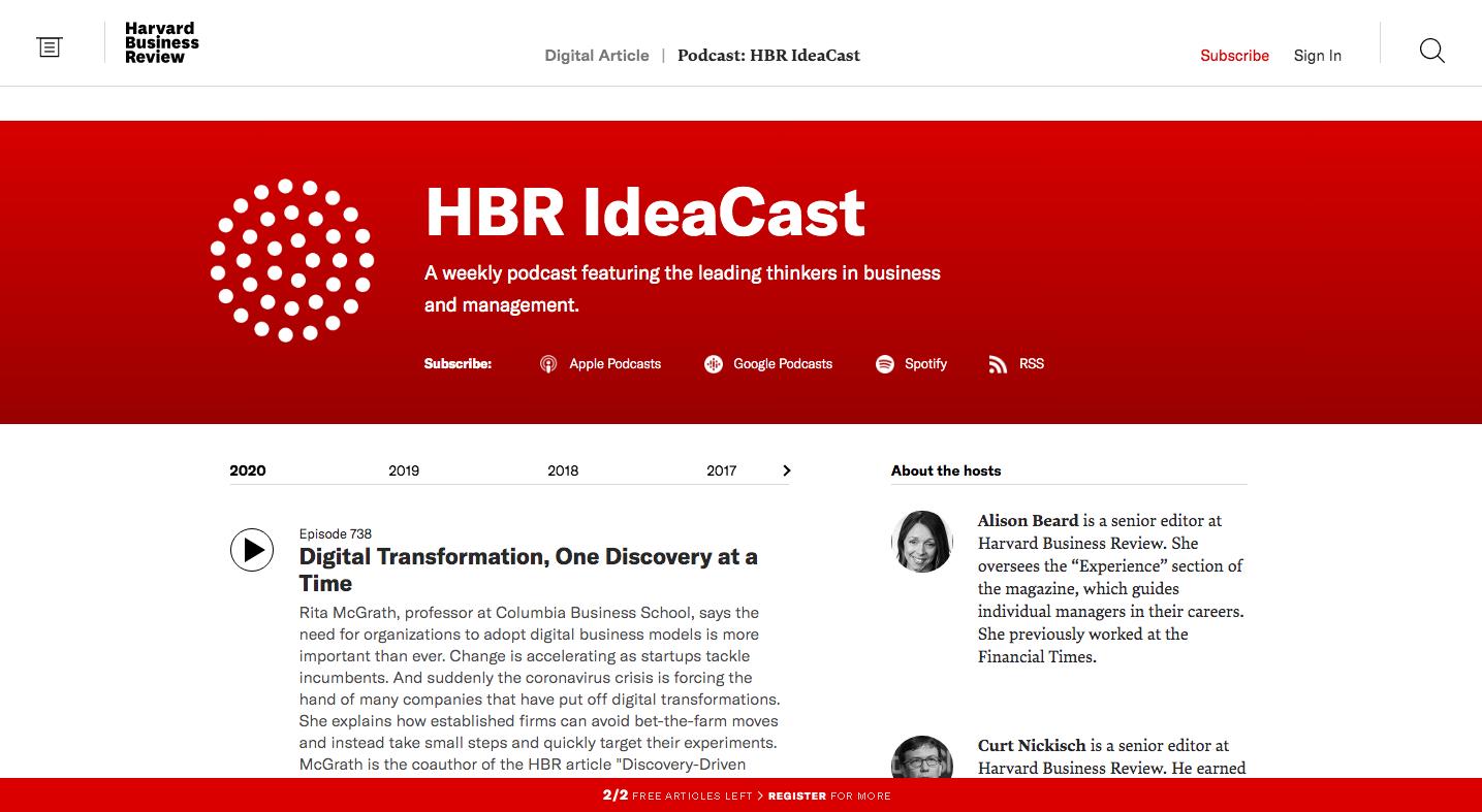 HBR-podcast