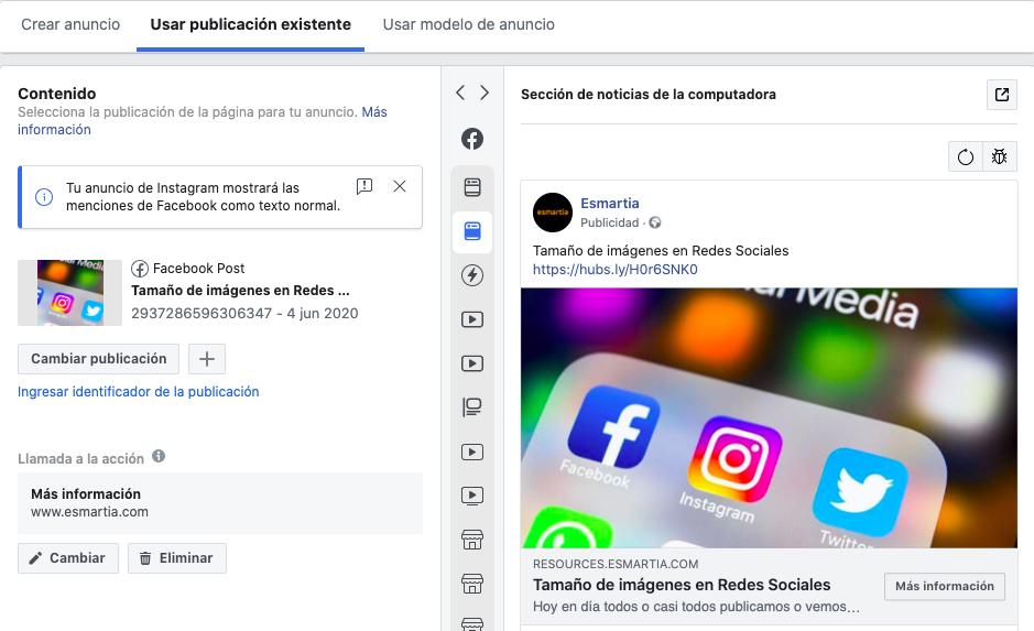 Publicacion-ya-existente-facebook